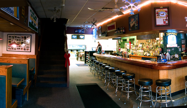 Bar Area at L & M Lanes